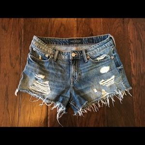 Lucky Brand Cut Off Shorts (size 2)